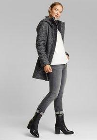 Esprit - Short coat - dark grey - 1