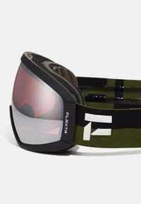 Flaxta - CONTINUOUS UNISEX - Ski goggles - dust green/black - 5