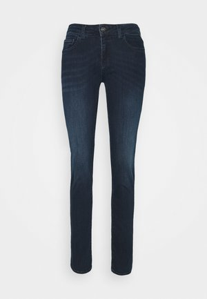 FAABY - Slim fit jeans - dark blue