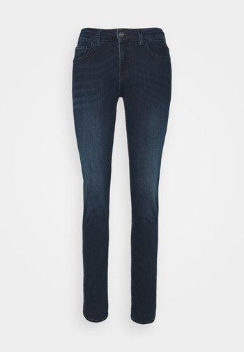 FAABY - Slim fit jeans - dark blue