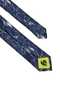 Twisted Tailor - CRACKED TIE - Krawat - navy - 2