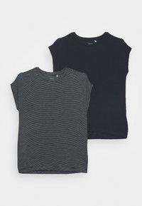 NKFSHIALLIA 2 PACK - T-shirt print - dark sapphire