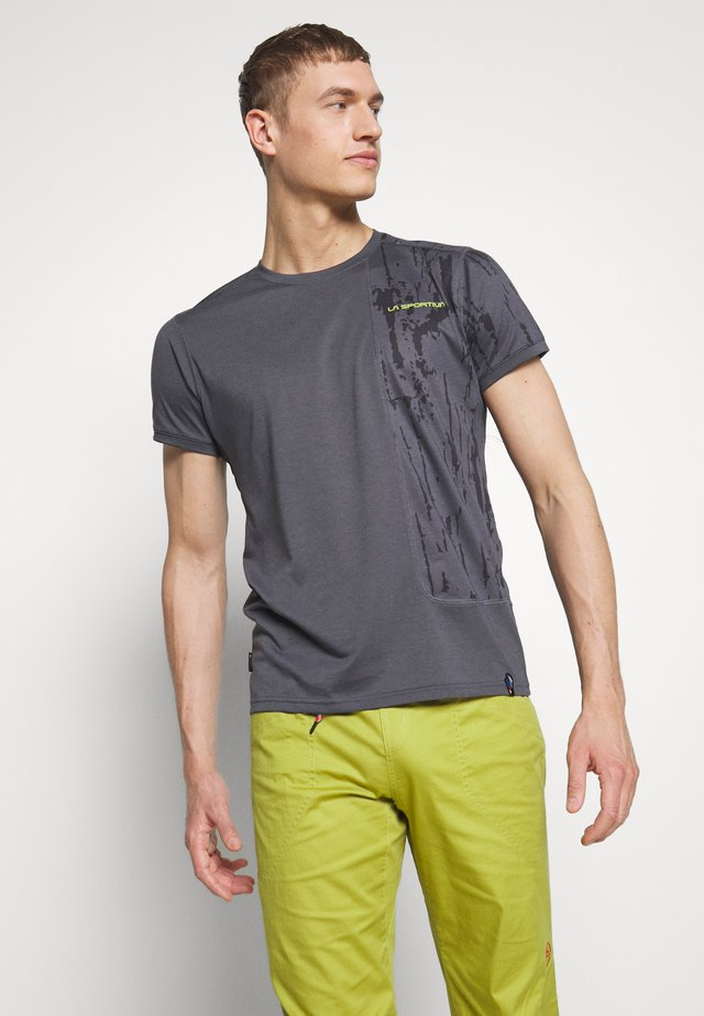 LEAD - T-shirt con stampa - carbon