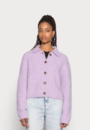 EMMARIE CARDIGAN - Cardigan - pastel lilac