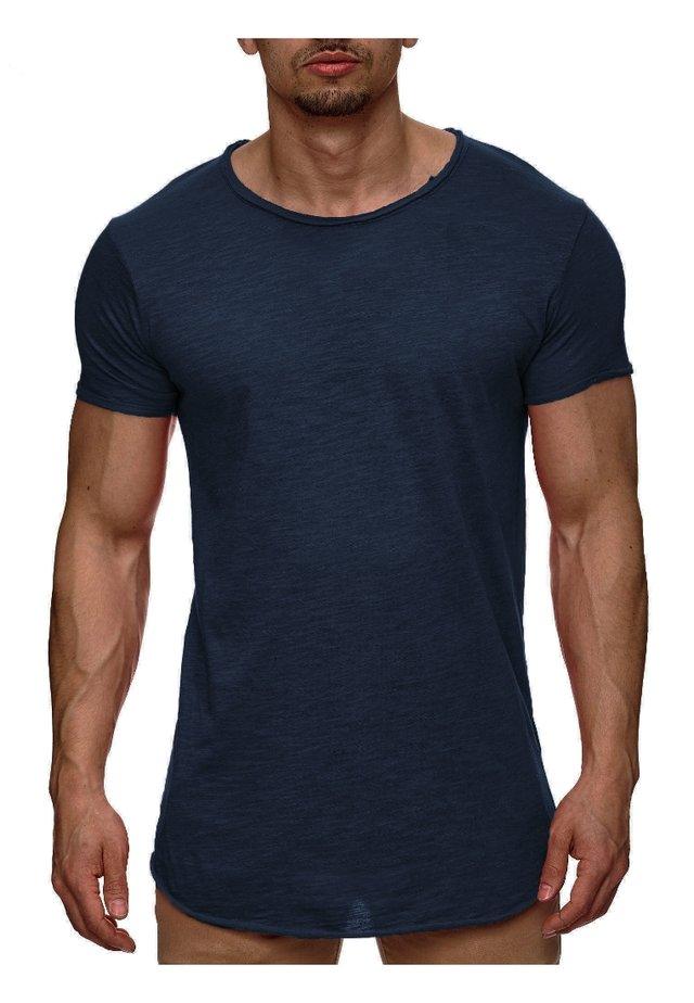 WILBUR - T-shirt print - dark blue