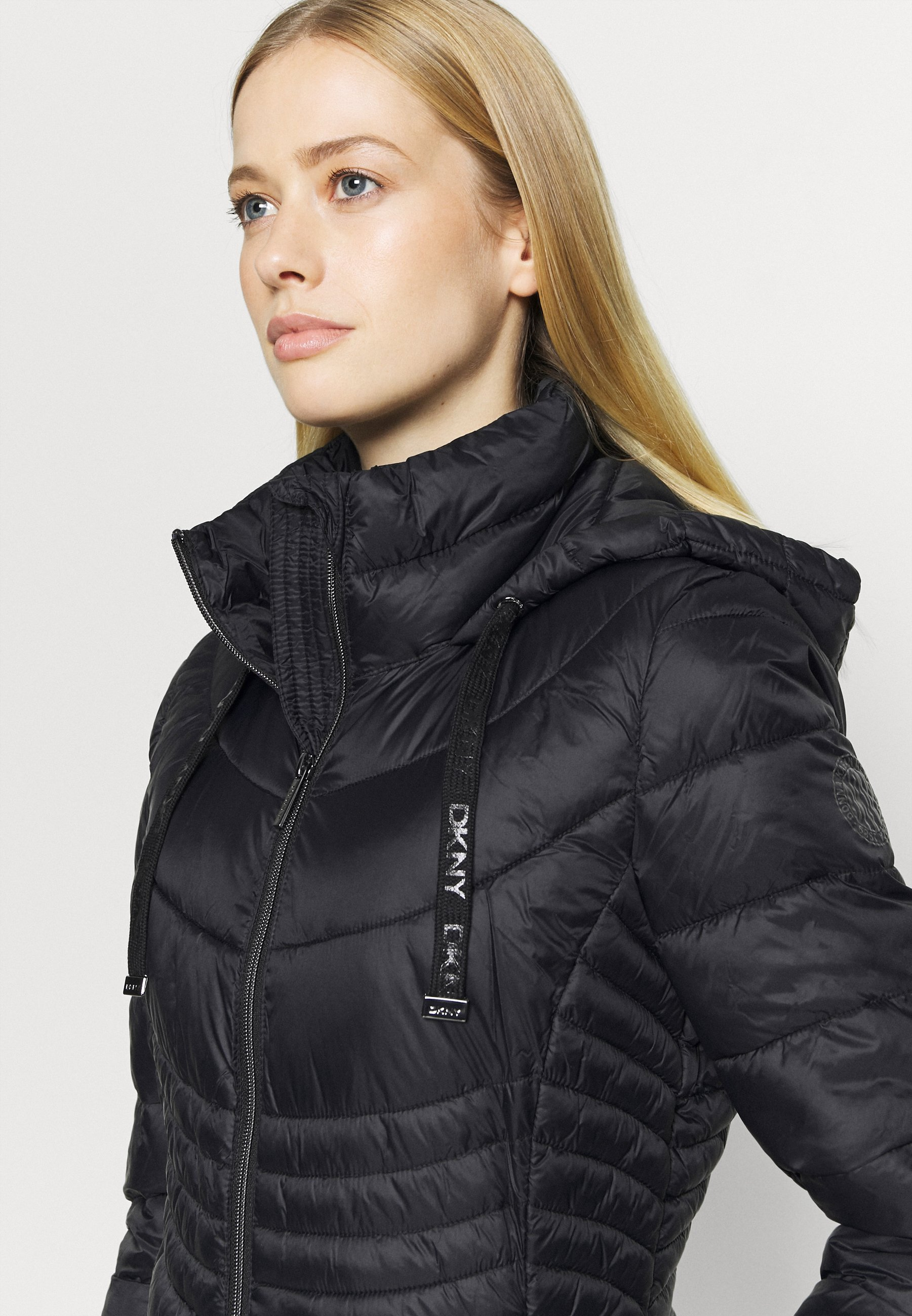DKNY ZIP SHORT - Training jacket - black be8hM