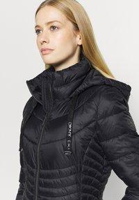 DKNY - ZIP SHORT - Training jacket - black - 4