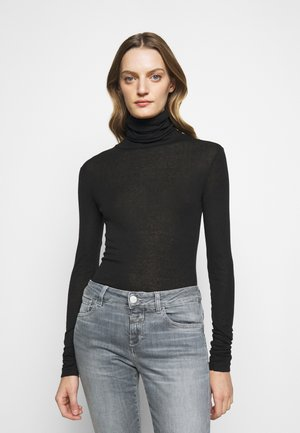 WOMEN - Long sleeved top - black