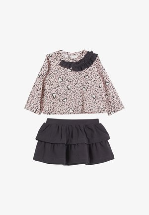 Sweatshirt - pink/dark grey