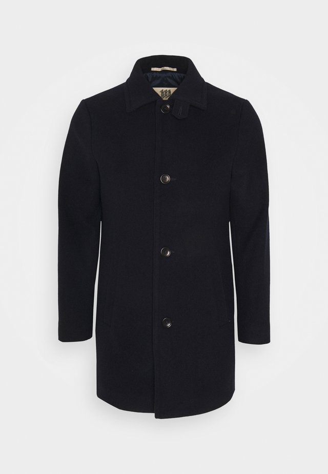 KLAKSVIG COAT - Kort kåpe / frakk - dress blue