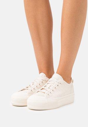 NIZZA PLATFORM  - Trainers - white/cream white