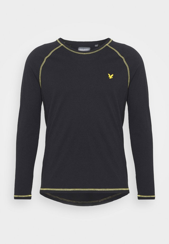 CONTRAST SEAMS BASELAYER - T-shirt à manches longues - true black