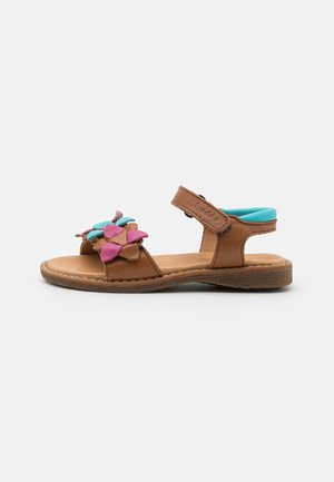 LORE FLOWERS - Riemensandalette - brown