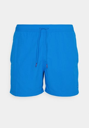 SOLID MEDIUM DRAWSTRING - Swimming shorts - blue