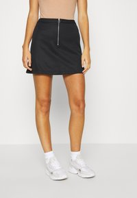 adidas Originals - SKIRT - Mini skirt - black - 0