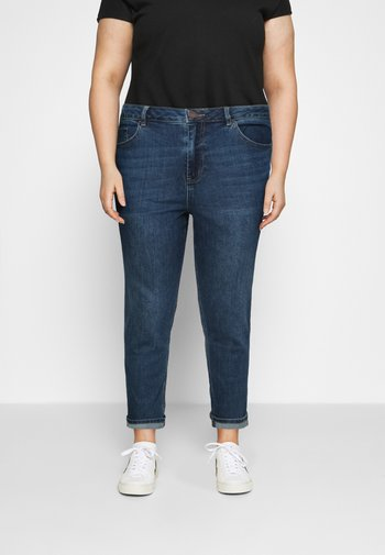 HIGH WAIST MOM JEANS - Relaxed fit jeans - new vintage blue