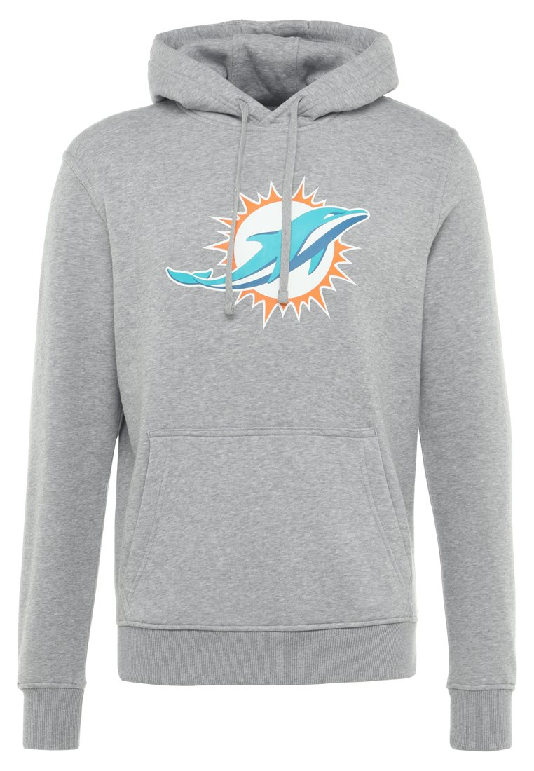 New Era MIAMI DOLPHINS HOODIE - Article de supporter - heather gray