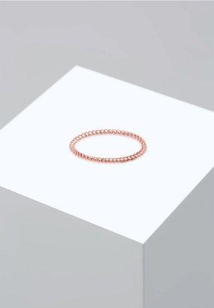 BASIC MINIMAL LOOK - Ring - pink gold
