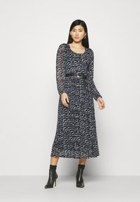Freequent - Day dress - black mix - 0