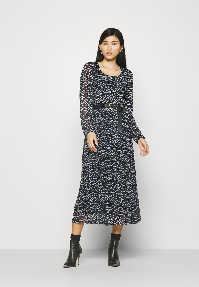 Freequent - Day dress - black mix