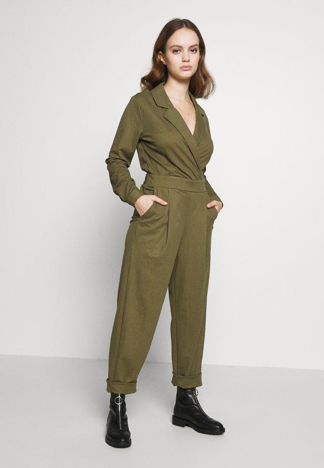 THELMA PETIT - Tuta jumpsuit - burnt olive