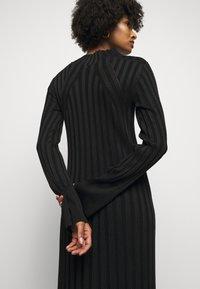 House of Dagmar - STINA - Jumper dress - black - 4
