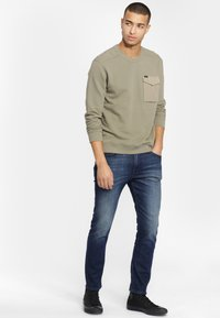 Lee - MILITARY - Sweter - utility green - 1