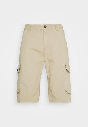 LIGHTWEIGHT CARGO - Shorts - chinchilla