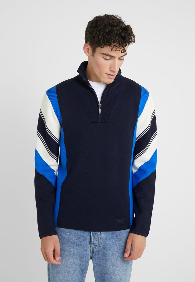 ZIP SPORT MILANO FASHION - Jumper - navy