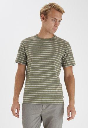 T-shirt print - scarab melange