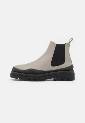 CPH735  - Platform ankle boots - stone