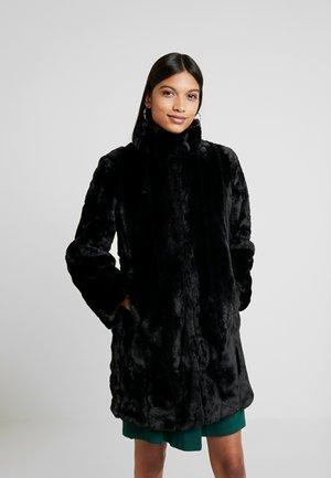 LONG - Zimní kabát - black