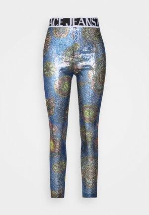 PANTS - Leggingsit - blue/multi