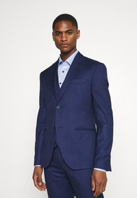 Isaac Dewhirst - CHECK SUIT - Costume - blue - 2