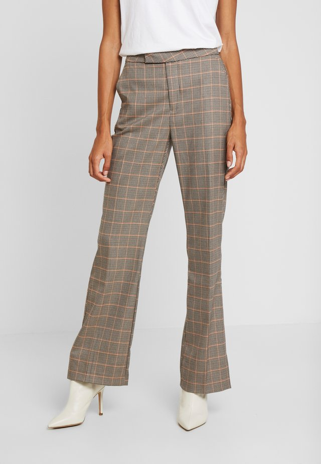 GEORGIA FLARE PANT - Spodnie materiałowe - multi-coloured