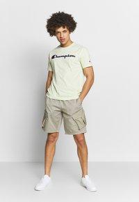 Champion Rochester - ROCHESTER CREWNECK  - T-shirts print - light green - 1