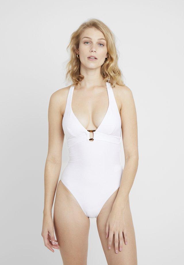 CAPRI SEA HALTER MAILLOT - Costume da bagno - white