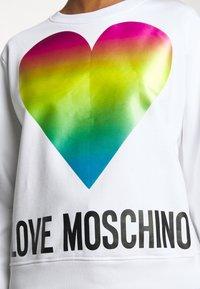 Love Moschino - Collegepaita - optical white - 5