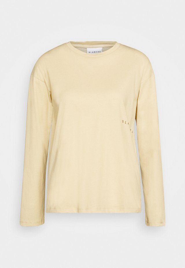 MAIN LIGHT LONGSLEEVE - Long sleeved top - macadamia