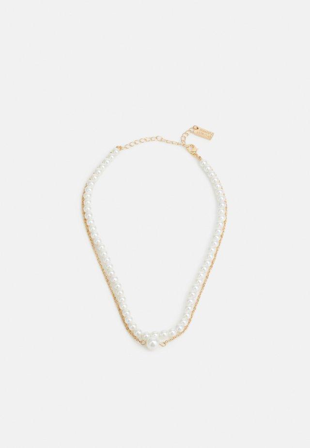 Collier - gold-coloured/white