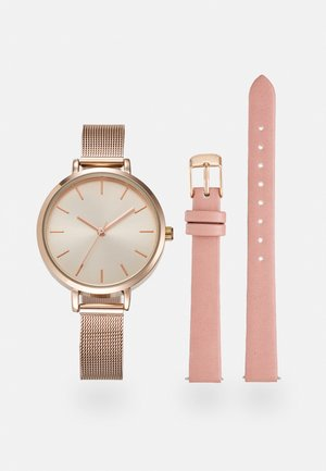 SET - Hodinky - pink/rose gold-coloured