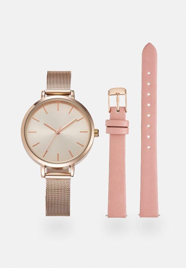 SET - Orologio - pink/rose gold-coloured