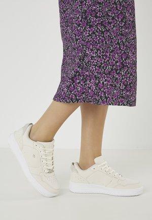 JUNE - Sneakers laag - beige