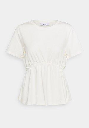 ONLANDRE DETAIL - T-shirts med print - cloud dancer