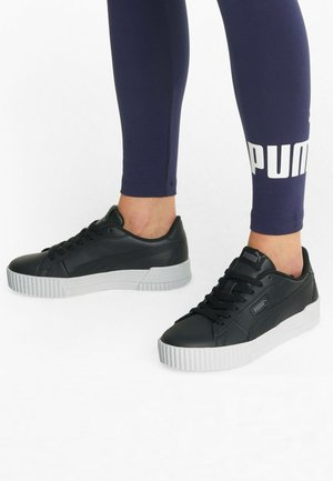 CARINA CREW  - Sports shoes - puma black-puma black