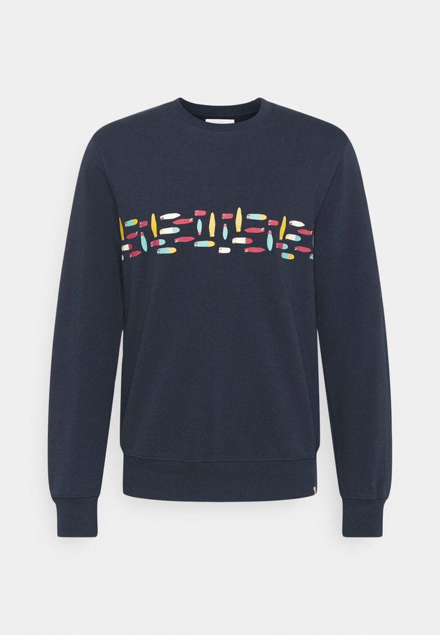 CREWNECK - Sweater - navy