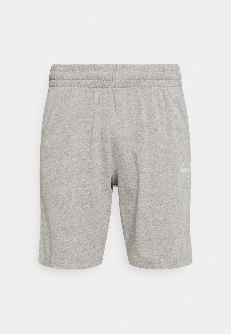 Diadora - SHORT CORE - Pantalón corto de deporte - light middle grey melange
