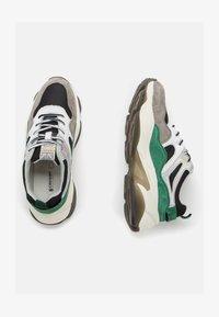 Crosby - Sneakers laag - black/green - 1