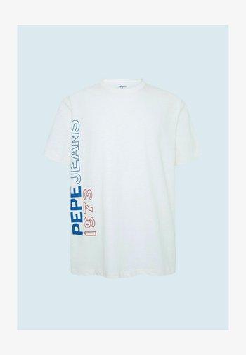 DOUGLAS - Print T-shirt - blanco off