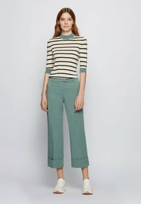 BOSS - TAROMA - Trousers - light green - 1
